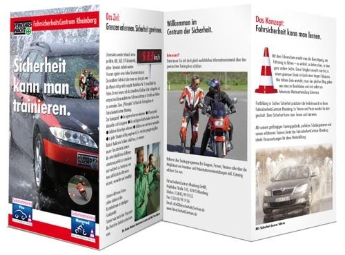 Flyer Faltblätter Nagels Druck Kempen